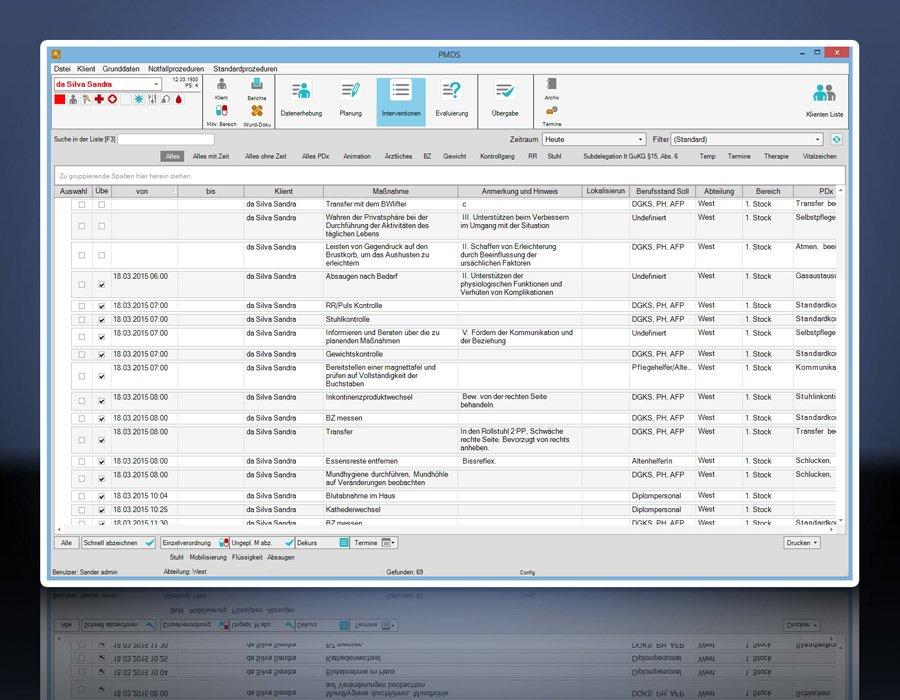 3. Produktbild PMDS - Pflege-Management und Dokumentationssystem