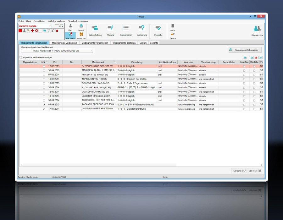 6. Produktbild PMDS - Pflege-Management und Dokumentationssystem