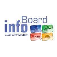 Firmenlogo infoBoard Europe GmbH und HINZE Consulting Hamburg