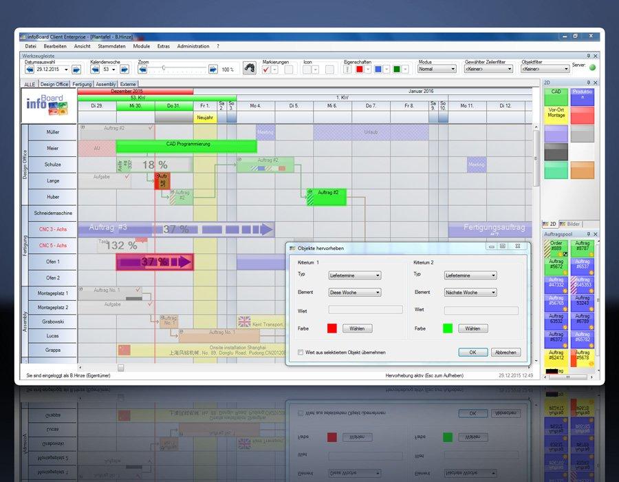10. Produktbild Elektronische Plantafel infoBoard-Server