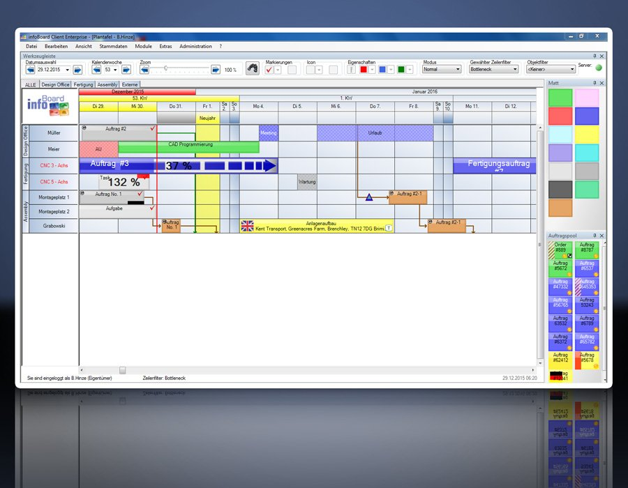 14. Produktbild Elektronische Plantafel infoBoard-Server
