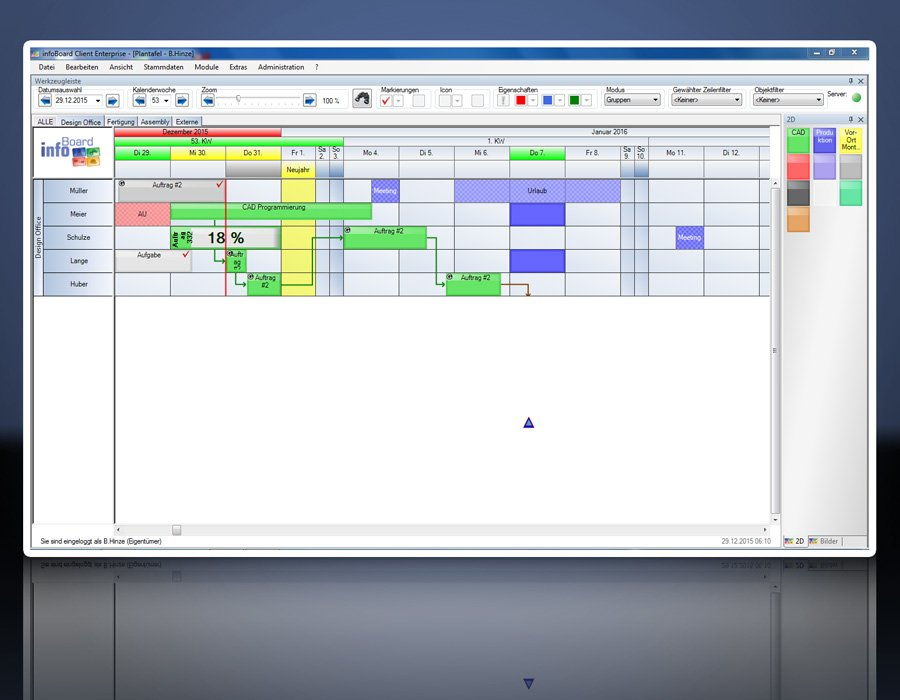 15. Produktbild Elektronische Plantafel infoBoard-Server