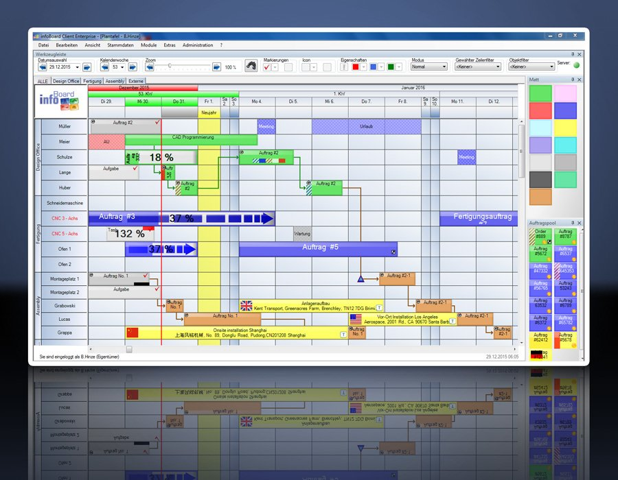 4. Produktbild Elektronische Plantafel infoBoard-Server