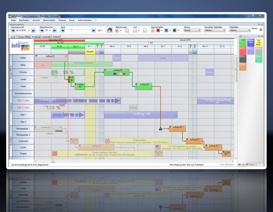 5. Produktbild Elektronische Plantafel infoBoard-Server