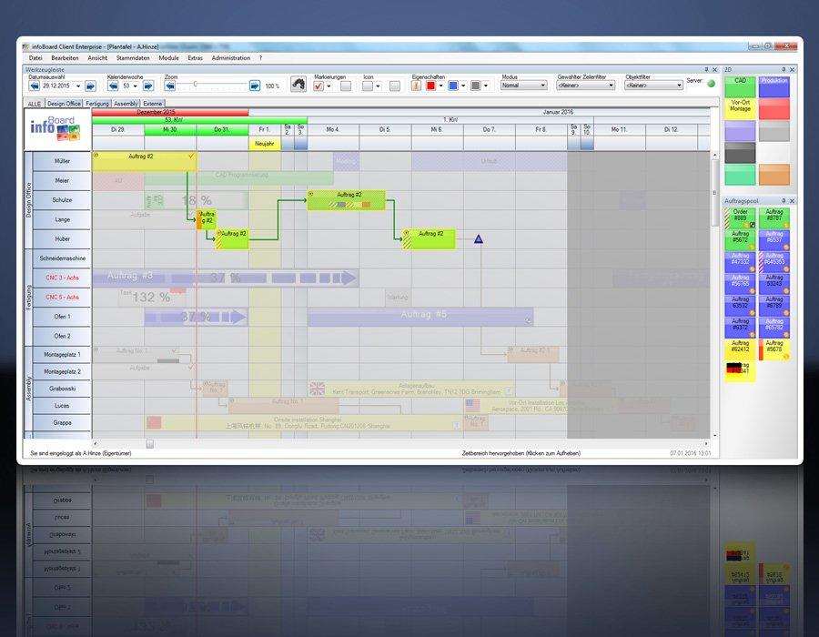 7. Produktbild Elektronische Plantafel infoBoard-Server