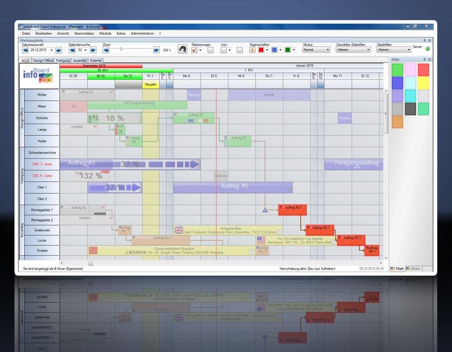 8. Produktbild Elektronische Plantafel infoBoard-Server