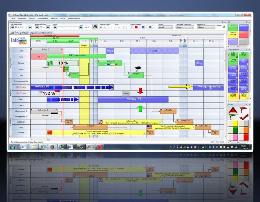1. Produktbild Elektronische Plantafel infoBoard-Server
