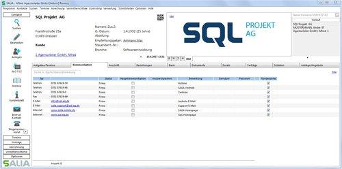 2. Produktbild SALIA® - Verwaltungsprogramm für Versicherungsmakler und Finanzdienstleister