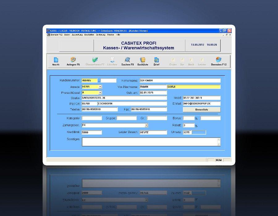 3. Produktbild CASHTEX Kassensystem für Einzelhandel