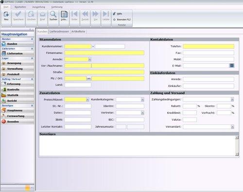 2. Produktbild MP PROFI ERP, Warenwirtschaftssystem für Großhandel