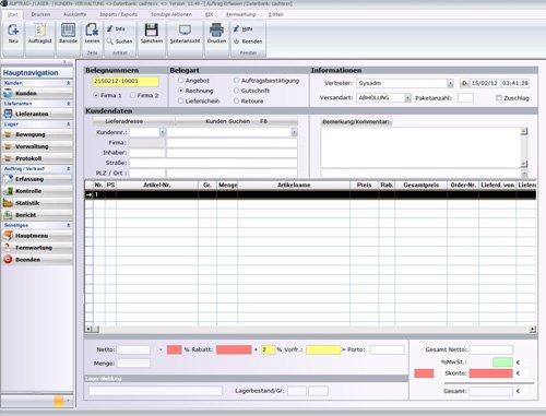 1. Produktbild MP PROFI ERP, Warenwirtschaftssystem für Großhandel