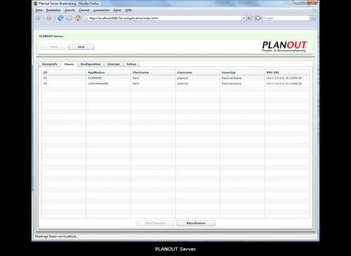 7. Produktbild PLANOUT Server