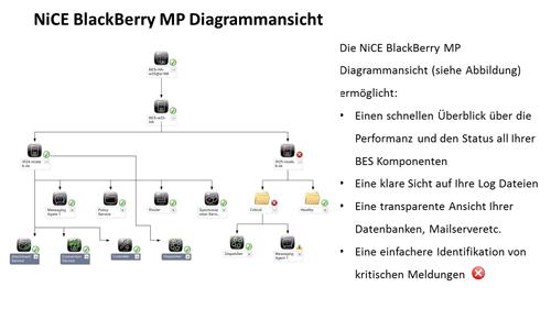 1. Produktbild NiCE BlackBerry MP, Überwachen des BlackBerryServer mit Microsoft