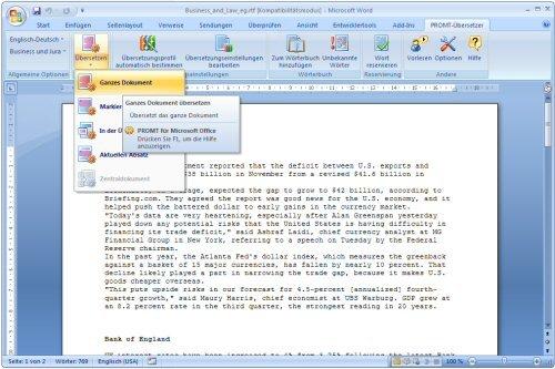 3. Produktbild PROMT Professional 12 Englisch-Deutsch