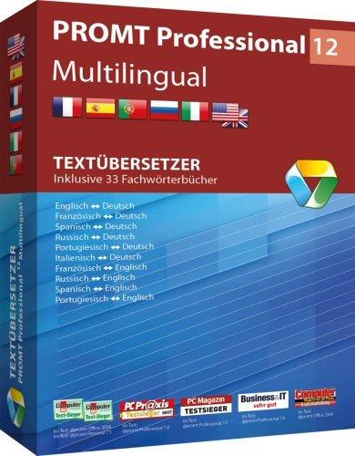 1. Produktbild PROMT Professional 12 Multilingual