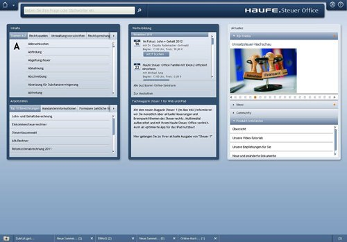 1. Produktbild Haufe Firmen Office - für Steuerberater