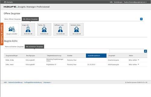 1. Produktbild Haufe Zeugnis Manager Professional