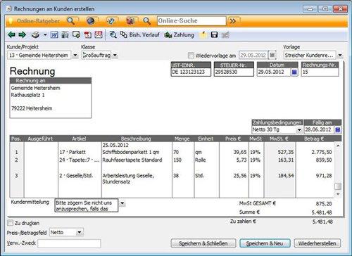 1. Produktbild Lexware büro easy