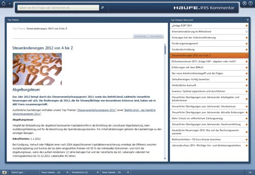 2. Produktbild Haufe IFRS-Kommentar