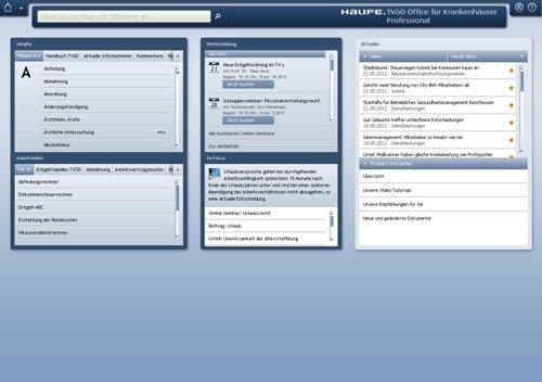 1. Produktbild Haufe TVöD Office Professional für Krankenhäuser