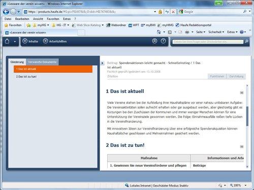 2. Produktbild Lexware der verein wissen online
