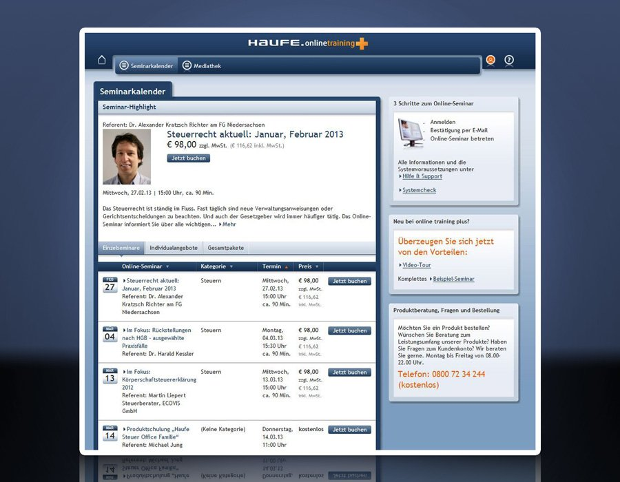 9. Produktbild Haufe Steuer Office Kanzlei-Edition