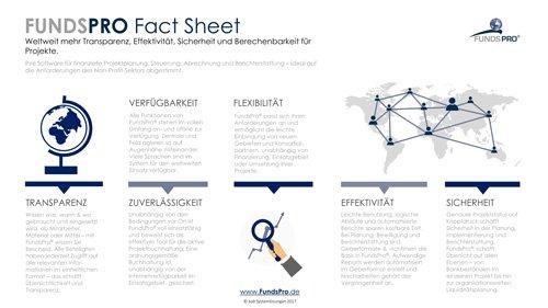 1. Produktbild FundsPro - Software für Hilfsorganisationen