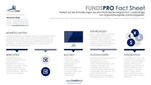 2. Produktbild FundsPro - Software für Hilfsorganisationen