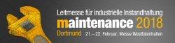 Messelogo MAINTENANCE Dortmund 2018