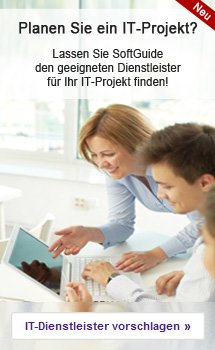Lassen Sie SoftGuide den geeigneten Dienstleister für Ihr IT-Projekt finden!