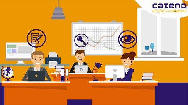 1. Produktvideo cateno Warenwirtschaftssystem - E-Commerce-Komplettlösung