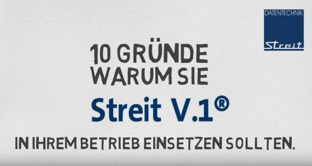 1. Produktvideo: Streit V.1® - kaufmännische Software für Ihr Handwerk