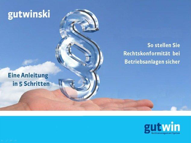 1. Produktbild Gutwin - Rechtsmanagement System