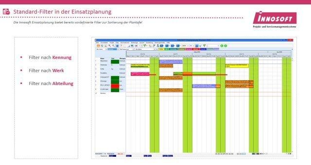 Produktvideo: Einsatzplanung - Software für Personaleinsatzplanung