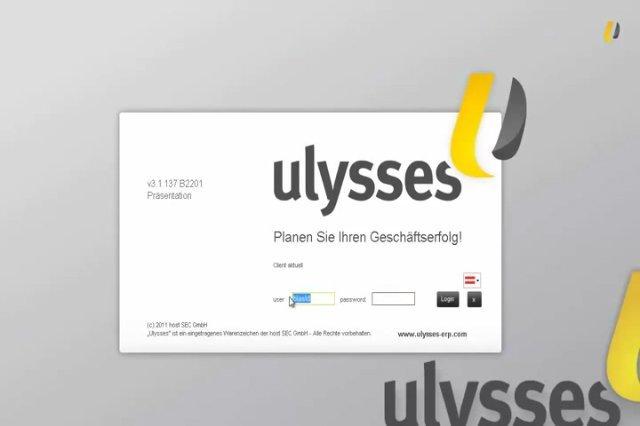 5. Produktvideo  Ulysses ERP - Software für die Fertigungsindustrie