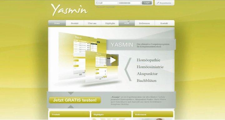 1. Produktvideo YASMIN - Heilpraktikersoftware