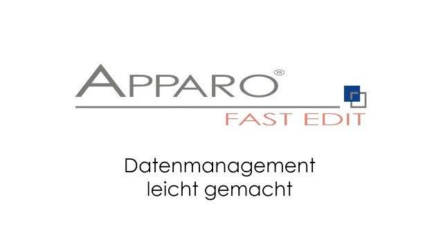 3. Produktvideo Apparo Flow