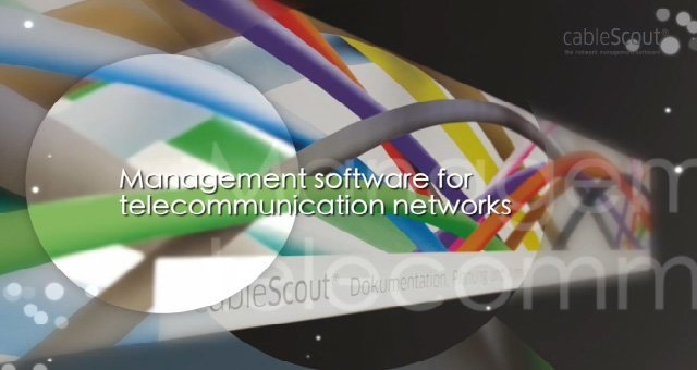 1. Product Video cableScout software for the management of optical fiber networks