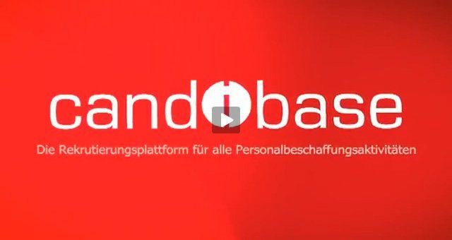 1. Produktvideo candibase - easy recruiting - Bewerbermanagement