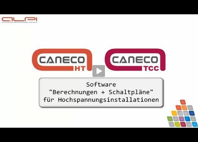 1. Produkvideo ALPI CANECO HT + TCC - Berechnung für Mittel - Hochspannung