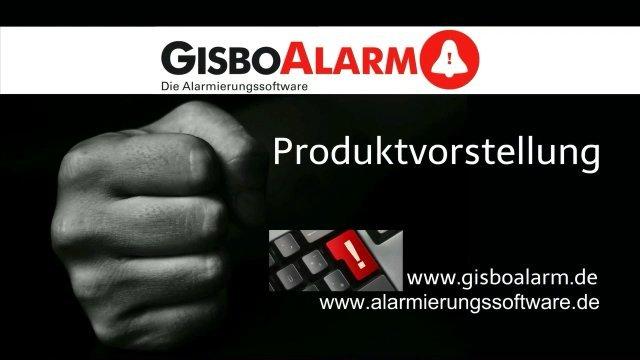 1. Produktvideo GisboAlarm - Die Alarmierungssoftware