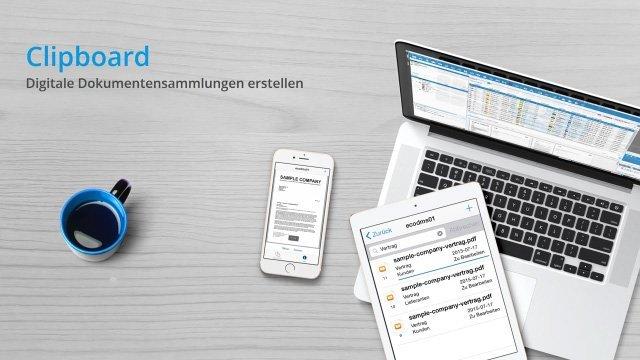 ecoDMS 16.09 - Clipboard (Dokumentensammlungen)