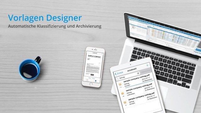 ecoDMS 16.09 - Vorlagen Designer (automatisch archivieren)