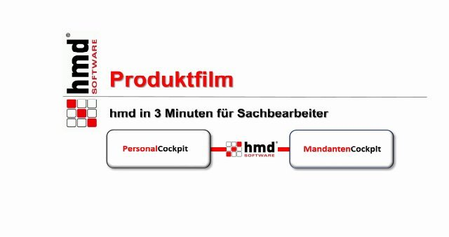 2. Produkvideo hmd - Die Komplettlösung für Steuerberater und Unternehmen
