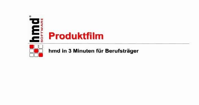 1. Produkvideo hmd - Die Komplettlösung für Steuerberater und Unternehmen