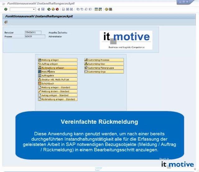 Produktvideo SAP Instandhaltung und mobile Lösung