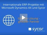 Produktvideo Internationale ERP-Projekte mit Microsoft Dynamics AX und Sycor