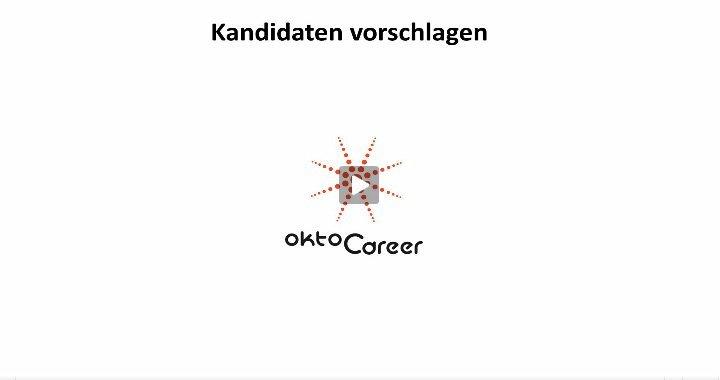 3. Produktvideo OktoCareer - Lösung für die Personalberatung / Personalvermittlung