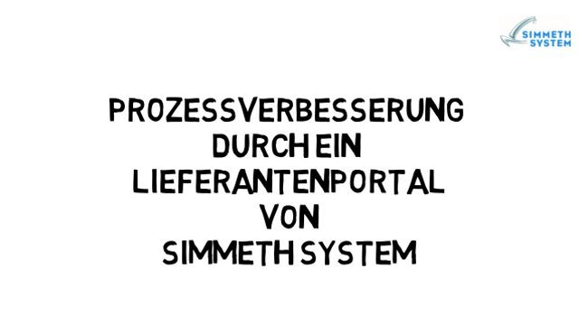 2. Konzeptvideo Lieferantenportal