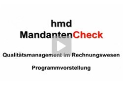 Produktvideo hmd.mandantencheck - Die Komplettl�sung f�r Steuerberater